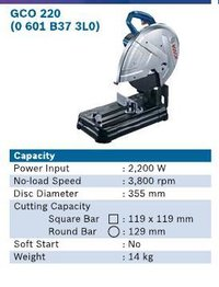 2200 Watt Cut Off Machine