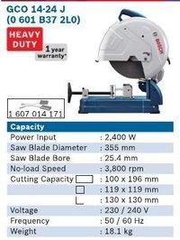 2400 Watt Cut Off Machine