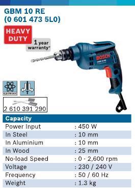 450 Watt Cordless Drill