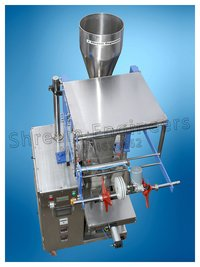 Automatic Single Pneumatic Pouch Packing Machine (PLC Model)