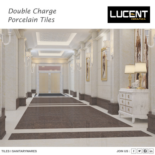 Double Charge Porcelain Tiles