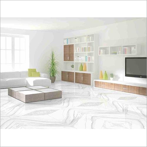 Carrara Satin Glazed Porcelain Floor Tiles