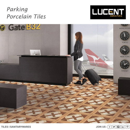 Modern Parking Porcelain Tiles