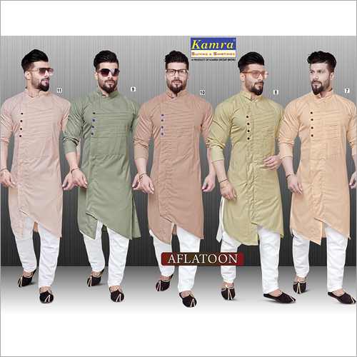 Mens Viscose Kurta Fabric