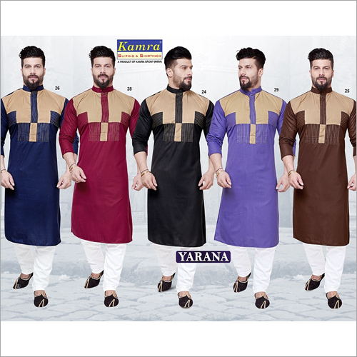 Mens Unstitched Kurta Fabric