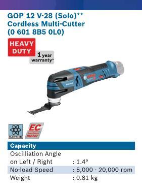 Cordless Multi Cutter