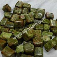 Unakite pebbles stone