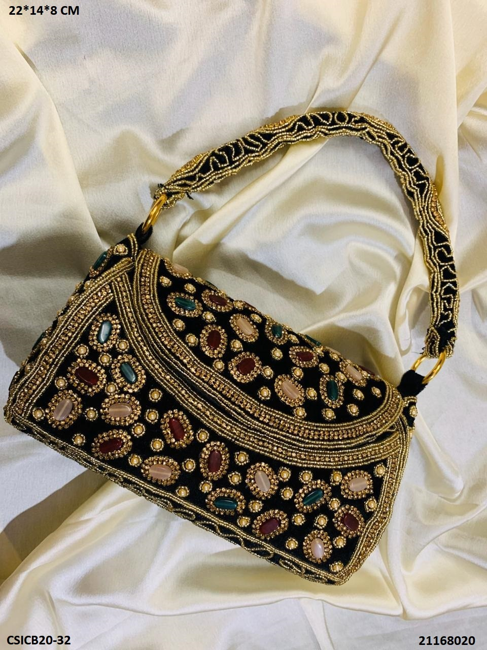 Handcrafted Bridal Clutch Bags