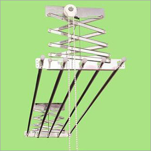 Pulley Type Cloth Hanger