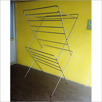 SS Cloth Drying Foldable Stand