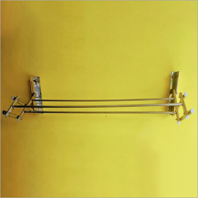 SS Wall Mounted Cloth Hanger