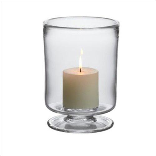 Glass Hurricane Lamp