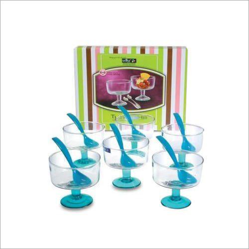 Glass Ice Cream Cup