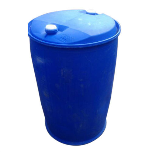 Blue Plastic Drum