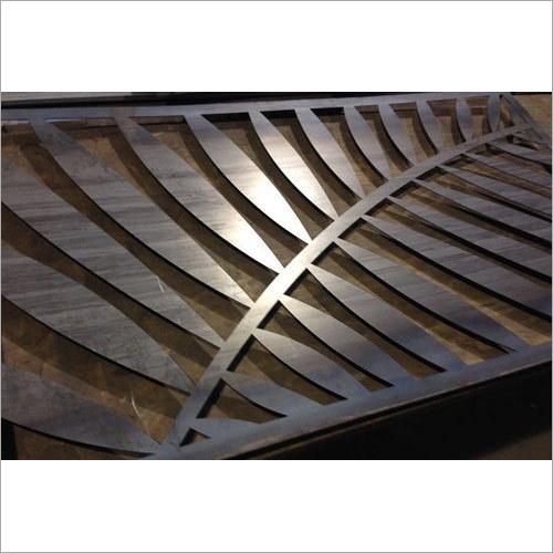SS CNC Laser Leaf Cut Design