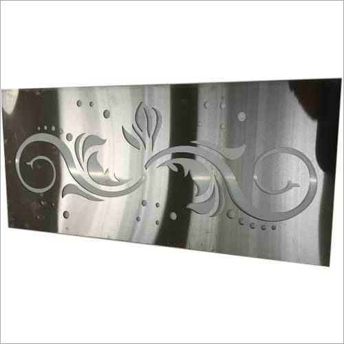 SS Jali Laser Cut Gate Design