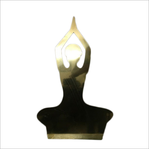 Brass Stylish Figure Laser Cut Design