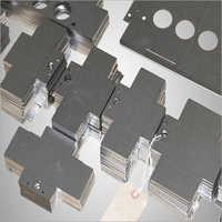 CNC Laser Cut Aluminium Plate