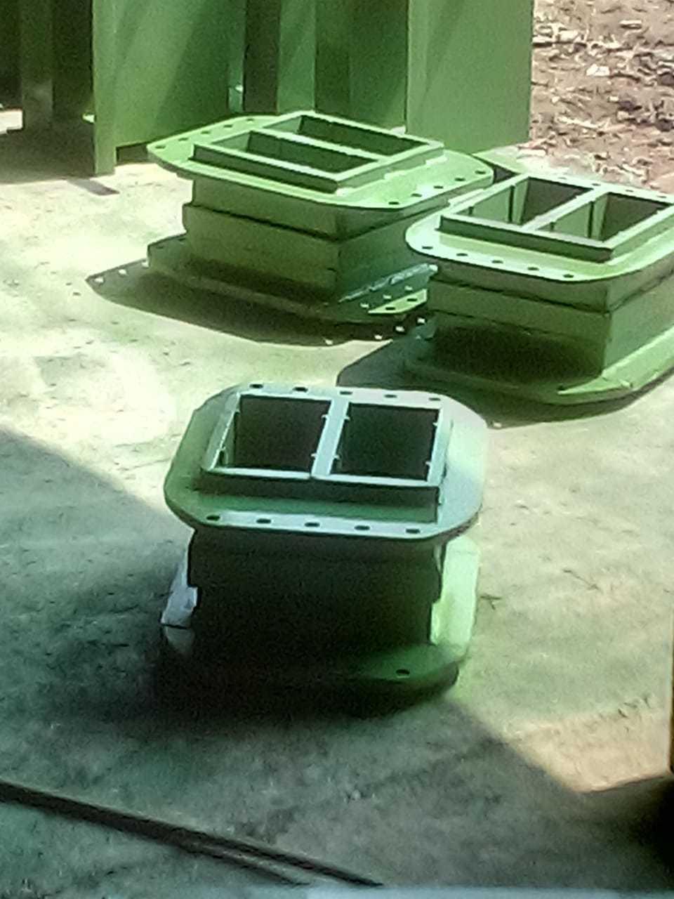 Semi Automatic Brick Making Press