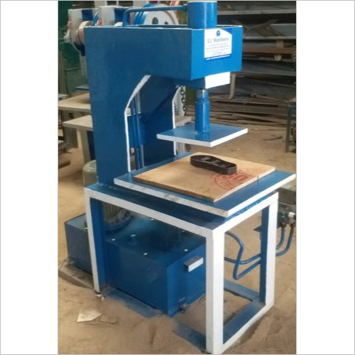 Semi Automatic Hydraulic Slipper Making Machine