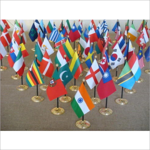 Miniature National Table Flags