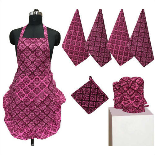 Frilly Apron Set