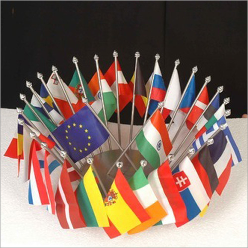 SS Base Various Countries Flag Stand