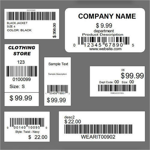 Retail Barocde Labels