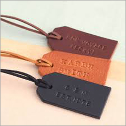 Engraved Garment Leather  Tags
