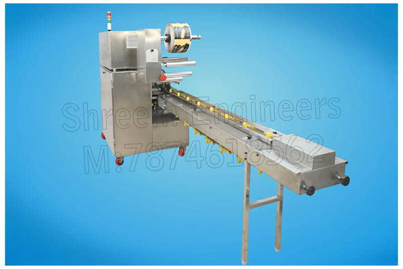 Flow Wrapping Machine Single Servo Model