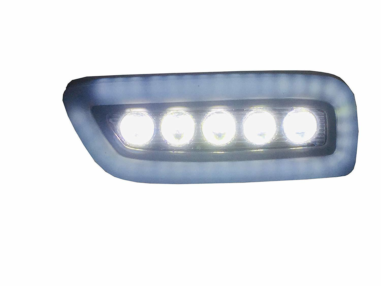 Car Led fog Light with DRL Day Running Light New maruti Suzuki Alto 2019