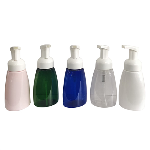 250 ml  Foamer Oval Shape Bottle