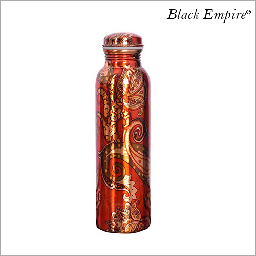 Color Printed Leak Proof Copper Bottle