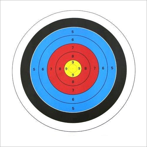 Round Target Paper