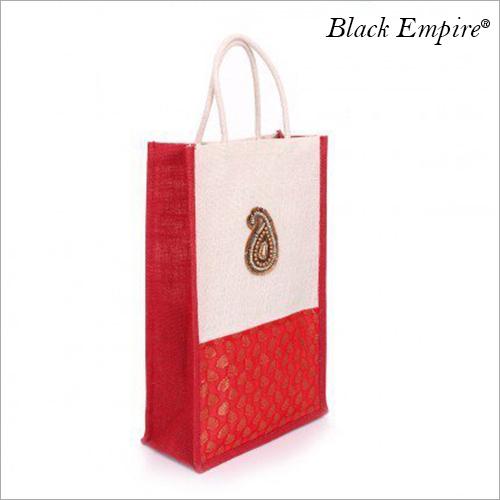 Designer Thamboolam Jute Bag