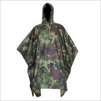Army Rain Poncho