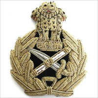 Army Badge And Button