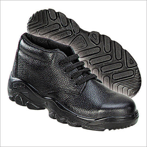 Action Milano Black Safety Shoes