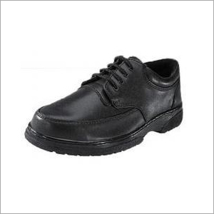 Action Milano Black Formal Safety Shoes