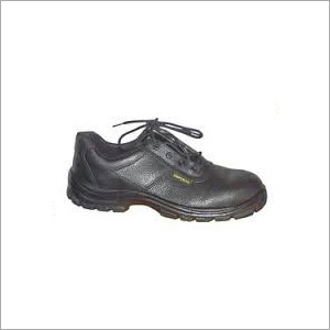 Action Milano Lace Up Leather Safety Shoes