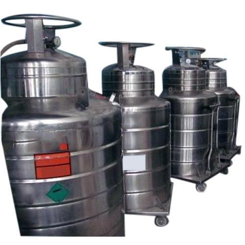 Liquid Helium Gas Cylinder