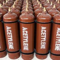 High Pressure Acetylene Gas Cylinder