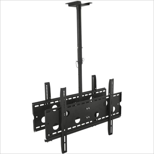 Dual LCD TV Ceiling Mount Stand
