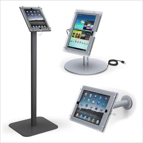 Tablet Wall Desk Floor Mount Stand