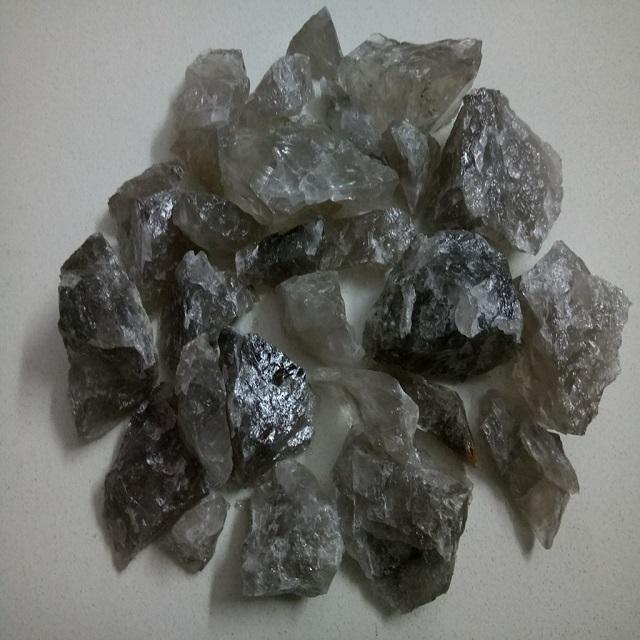 Natural Rock Smoky Crystal Quartz Rough Stone