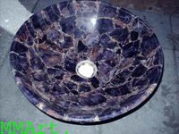 Amethyst slabs