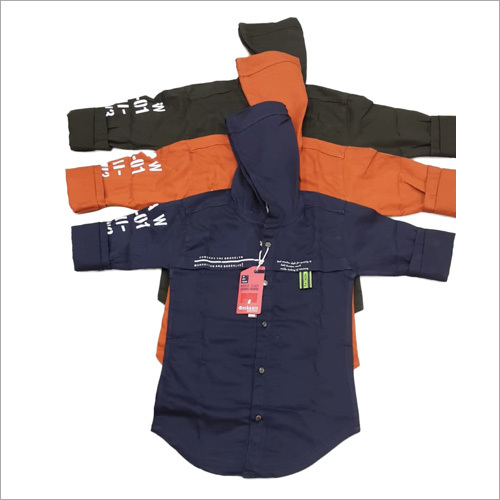 Boys Cotton Hoodie Shirts