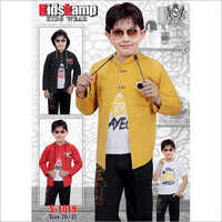 Boys T-Shirt With Jacket