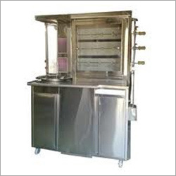 Shawarma Com Chicken Grill Machine