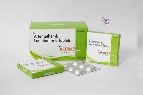 Artemether 80mg + lumefantrine 480mg